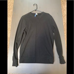 Black Crewneck Sweater from H&M